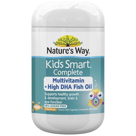 Nature's Way Kids Smart Complete Multivitamin 100s