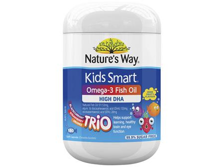 Nature's Way Kids Smart Omega-3 Fish Oil Trio 180s