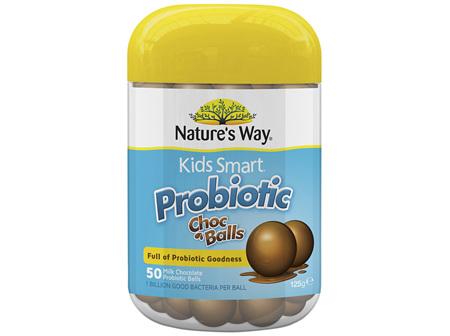 Nature's Way Kids Smart Probiotic Choc Balls 50s