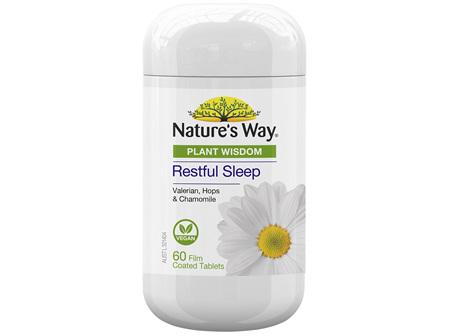 Nature's Way Plant Wisdom Sleep 60 Tablets
