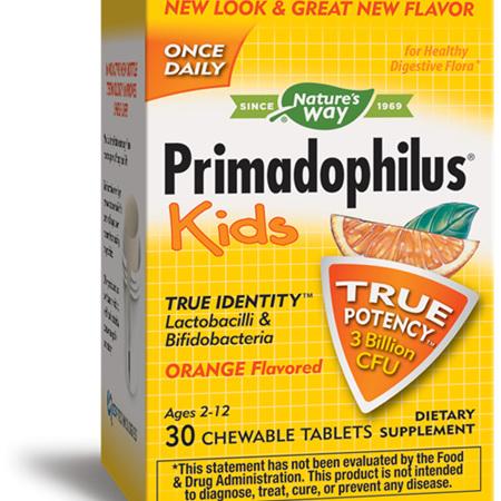 NATURES WAY Primadoph Chew Orange 30s