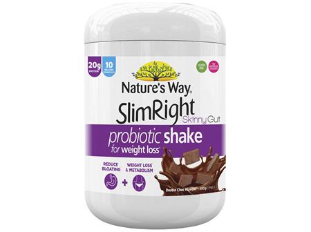 NATURE'S WAY SLIMRIGHT SKINNYGUT PROBIOTIC SHAKE 350g