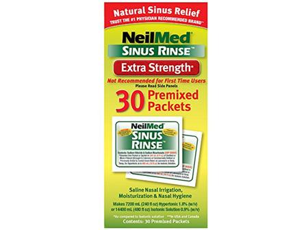 NEIL SINUS RINSE HYPER PREMIX 30
