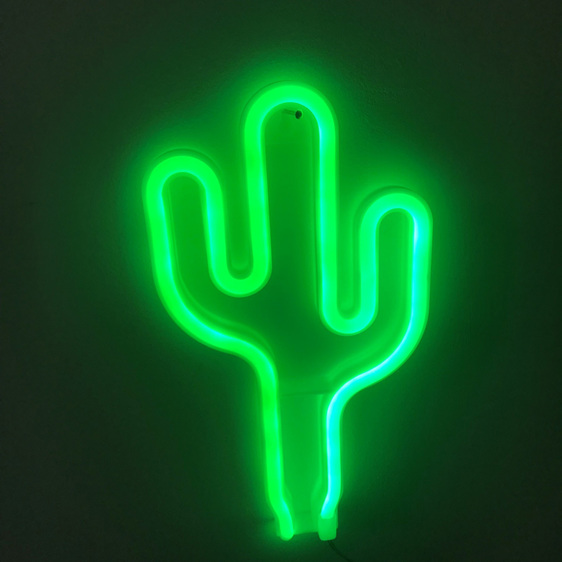 Neon Light - Cacti (Plug In)