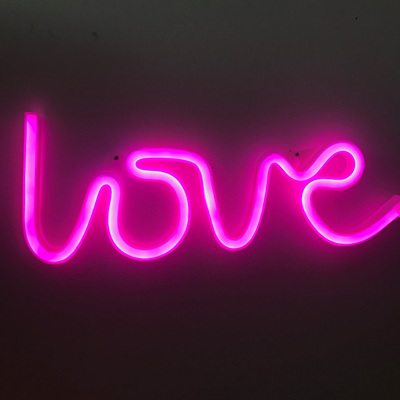 Neon Light - Love Pink (Battery)