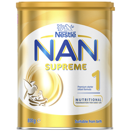 NESTLE NAN SUPREME 1 Starter 0-6 Months Baby Formula Powder 800g