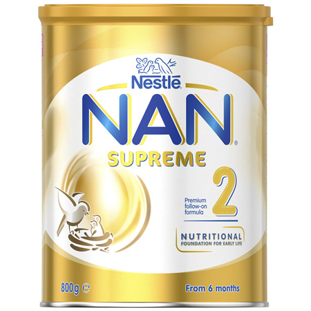 NESTLE NAN SUPREME 2 Follow-On Formula 6-12 Months Powder 800g