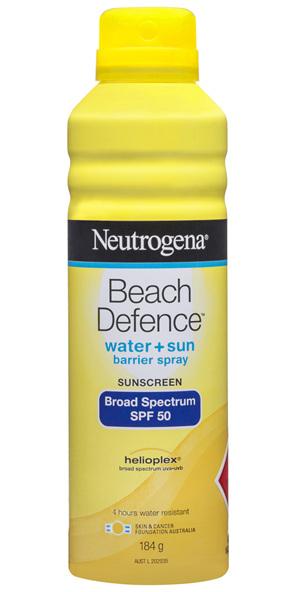NEUTRO Beach Defence Spray SPF50 184g