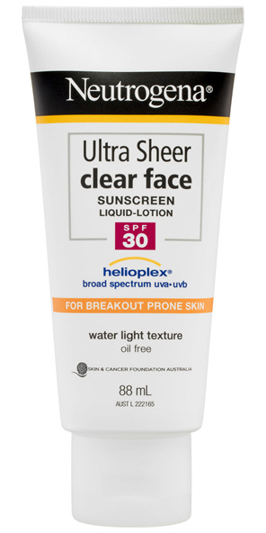 NEUTRO Ultra Sheer Clear Face Lotion SPF30 88m