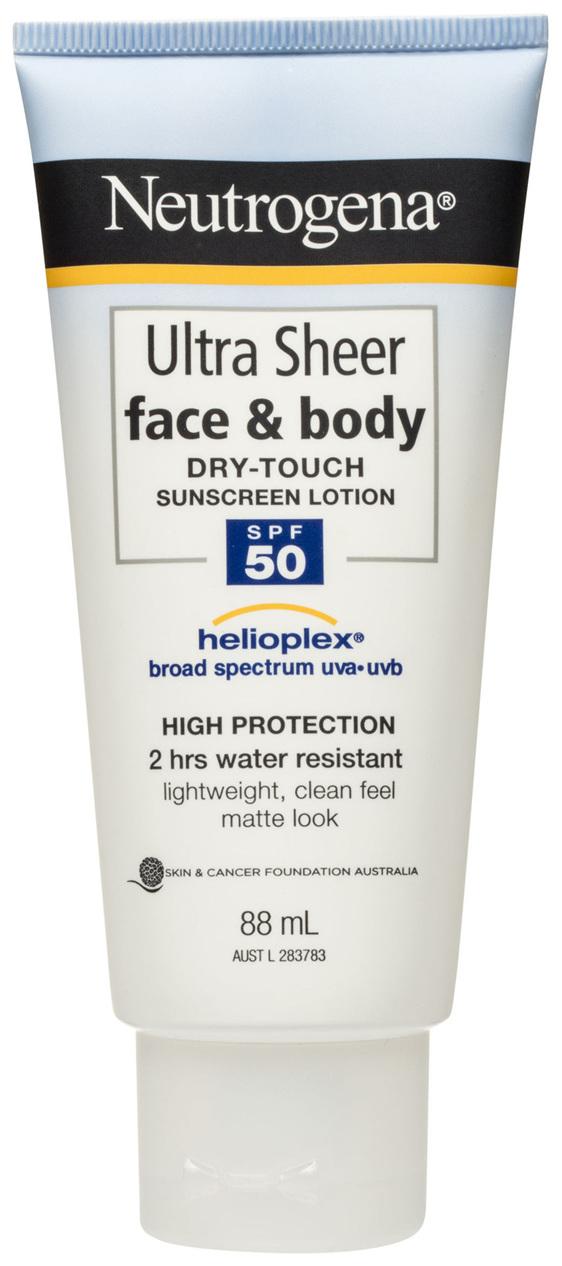 NEUTRO Ultra Sheer Face Lotion SPF50+ 88ml
