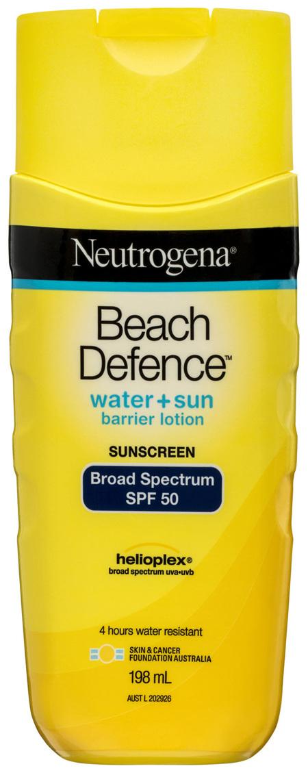 Neutrogena Beach Defence Lotion SPF 50 198mL