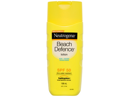 Neutrogena Beach Defence Lotion SPF 50 198mL