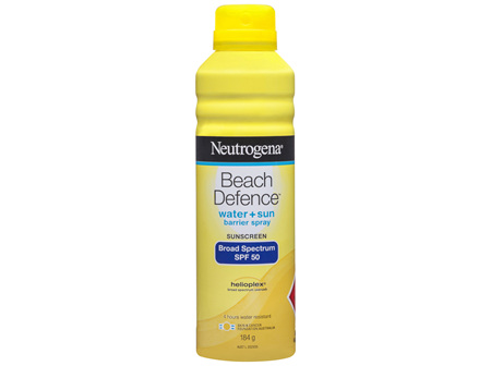 Neutrogena Beach Defence SPF 50 Sun + Water Sunscreen Spray 184g