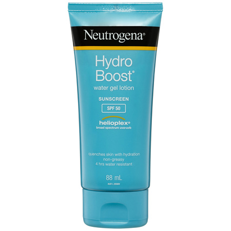 Neutrogena Hydro Boost Water Gel Sunscreen Lotion SPF 50 88mL