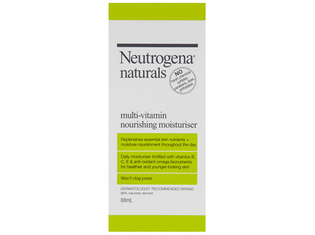Neutrogena Naturals Multi-Vitamin Daily Moisturiser 88mL