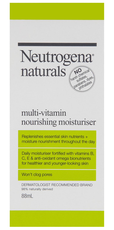 Neutrogena Naturals Multi-Vitamin Daily Moisturiser 88mL