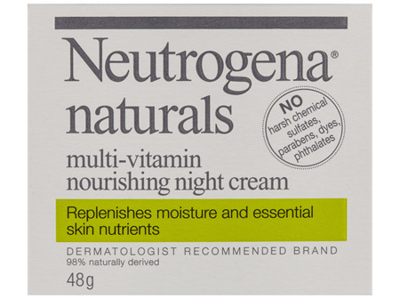 Neutrogena Naturals Multi-Vitamin Night Cream 48g
