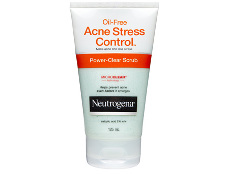 Neutrogena Oil-Free Acne Stress Control Power-Clear Scrub 125 mL