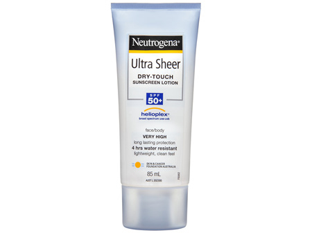 Neutrogena Ultra Sheer Body Lotion Spf 50+ 85mL
