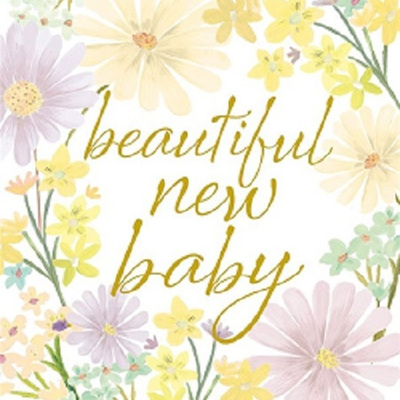 New Baby Greeting Card