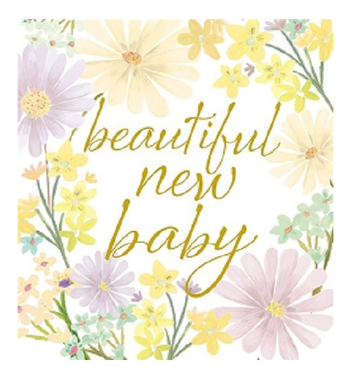 new baby greeting card vintage love homeware gifts