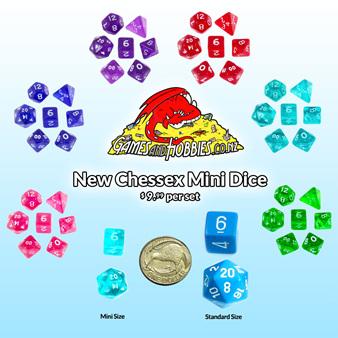 New Range of Mini Polyhedrals
