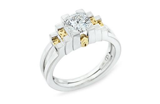 new york empire state round brilliant diamond ring