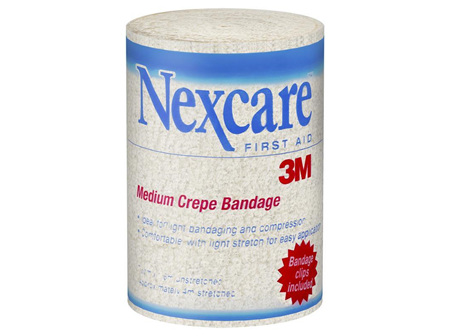 Nexcare Medium Crepe Bandage 10cm x 1.6cm unstretched