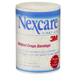 Nexcare Medium Crepe Bandage 10cm x 1.6cm unstretched