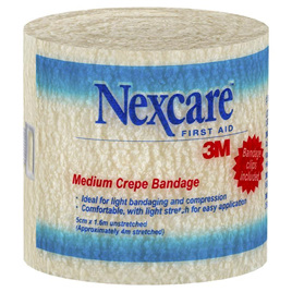 Nexcare medium Crepe Bandage 5cm x 1.6cm unstretched