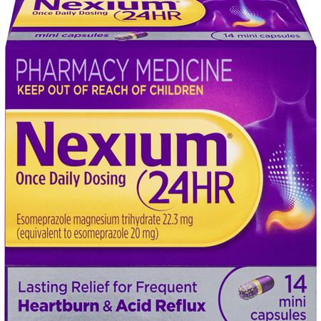Nexium 24-Hour Once Daily Dosing 14 Mini Capsules