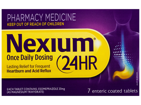 Nexium 24HR Once Daily Dosing Tablets 7 Pack