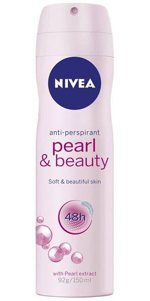 NIVEA Deodorant Pearl & Beauty Aerosol 150mL
