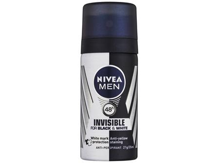 NIVEA MEN Black & White Invisible Original Mini Deodorant 35mL