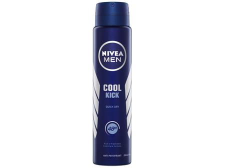 NIVEA MEN Cool Kick Aerosol Deodorant 250ml