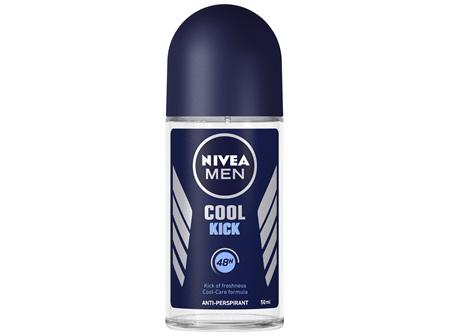 NIVEA MEN Cool Kick Roll-On Deodorant 50ml