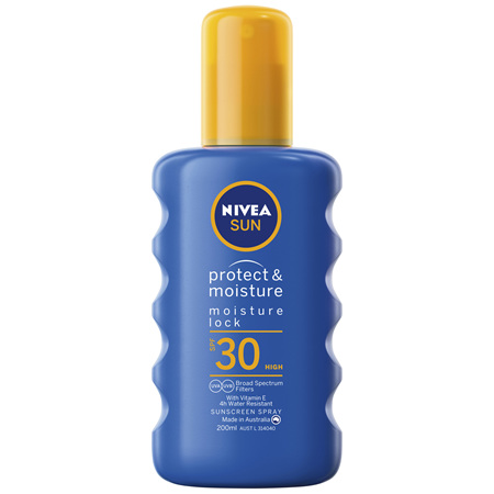 NIVEA Protect & Moisture Caring Sunscreen Spray SPF30 200ml