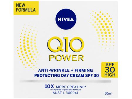 NIVEA Q10 Power Day Cream SPF30 50mL
