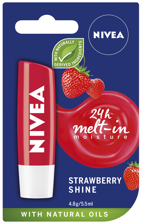 NIVEA Strawberry Shine 4.8g