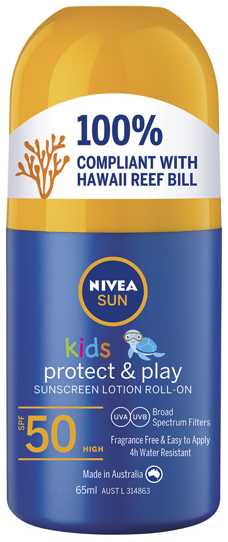 NIVEA SUN Kids Caring Roll On Sun Lotion SPF50 65ml