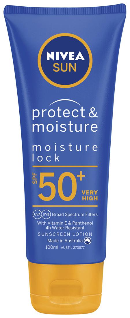 NIVEA SUN Protect & Moisture Sunscreen Lotion SPF50+ 100ml