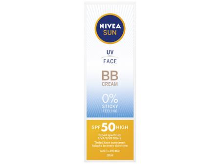 NIVEA SUN UV Face BB Cream SPF50 50ml