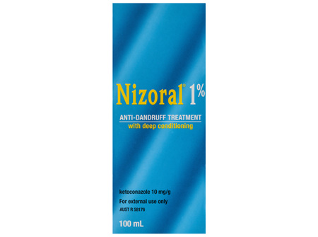 Nizoral 1% Anti-Dandruff Treatment 100mL