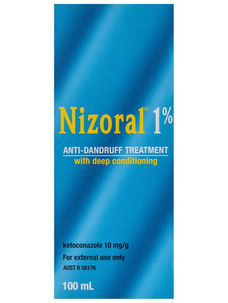 Nizoral 1% Anti-Dandruff Treatment 100mL