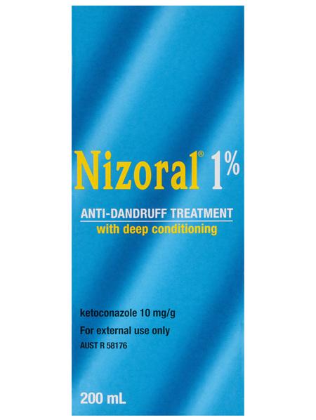 Nizoral 1% Anti-Dandruff Treatment 200mL