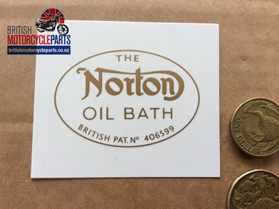 NM17731 Norton Oil Bath Decal