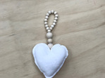 Nordic Beaded Heart Hanger