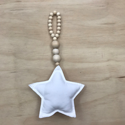 Nordic Beaded Star Hanger