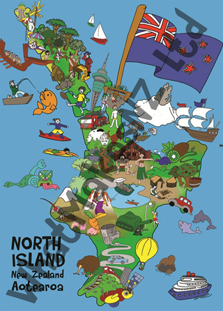 North Island Nifty Floor Puzzle