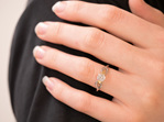 Nortic Diamond Engagement Ring